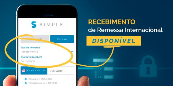 Frente Corretora lança a funcionalidade de recebimento de remessas por plataforma