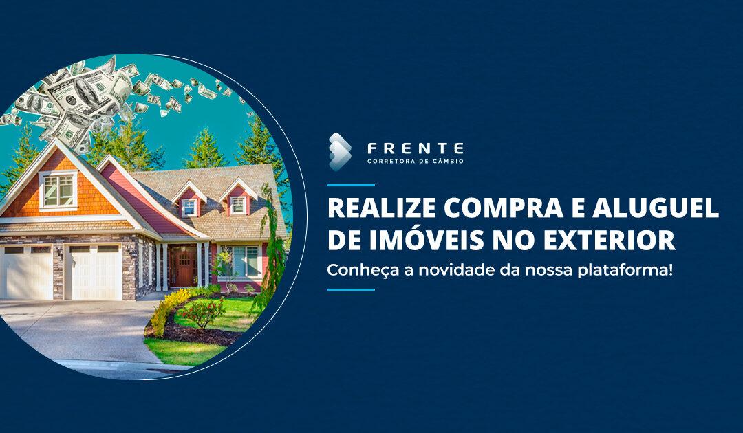 Realize pagamentos de aluguel e compra de imóveis no exterior